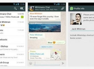 Mengsinkronisasi kontak WhatsApp dan Facebook