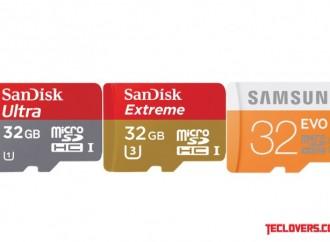 Perbandingan kecepatan microSD Sandisk Ultra dan Sandisk Extreme