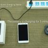 Isi baterai smartphone setengah dari kapasitas hanya dalam 5 menit